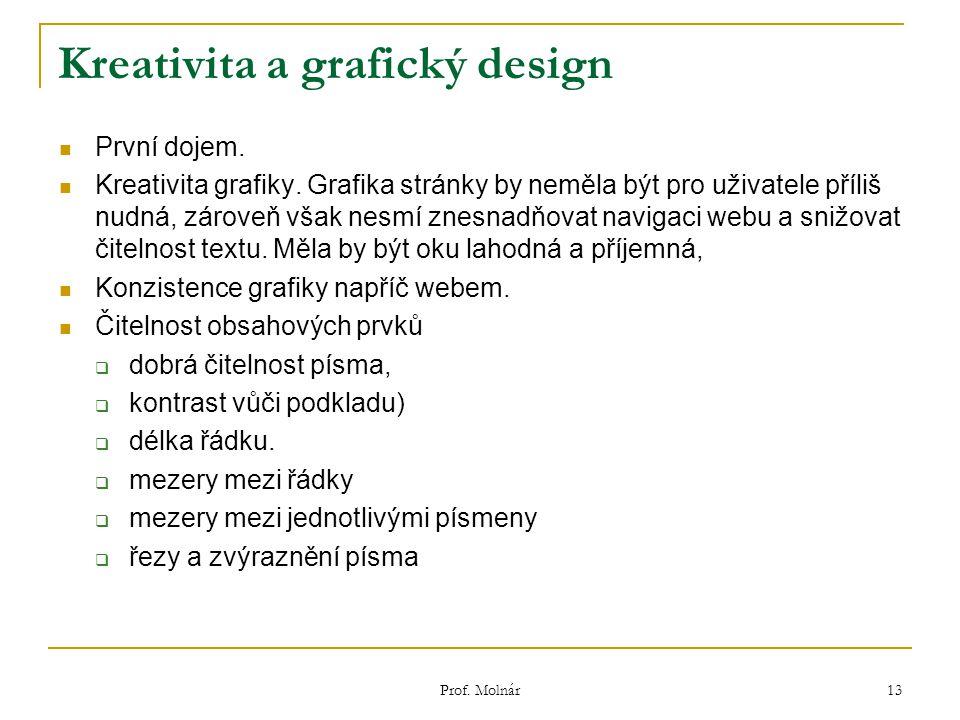 Kreativita a grafický design První dojem. Kreativita grafiky.
