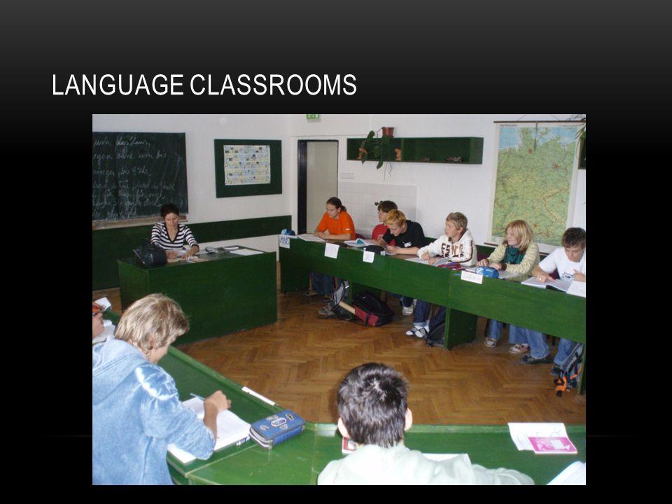 LANGUAGE CLASSROOMS