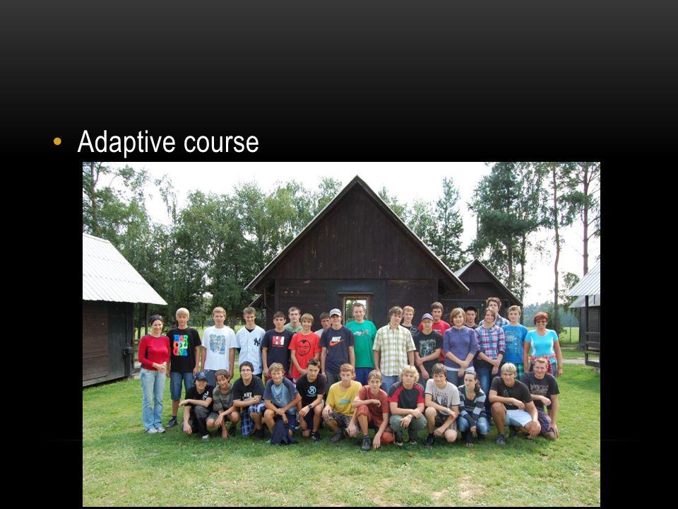 Adaptive course