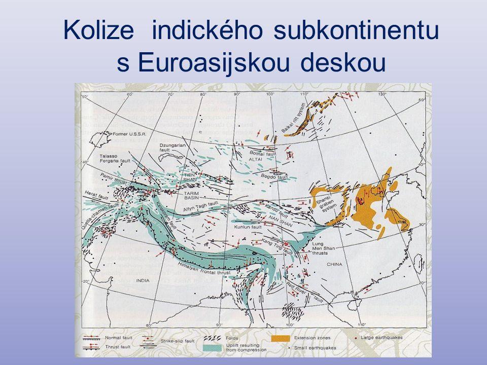 Kolize indického subkontinentu s Euroasijskou deskou