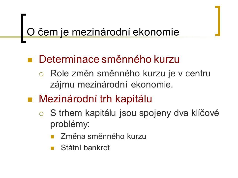 PLATEBNÍ BILANCE ČR
