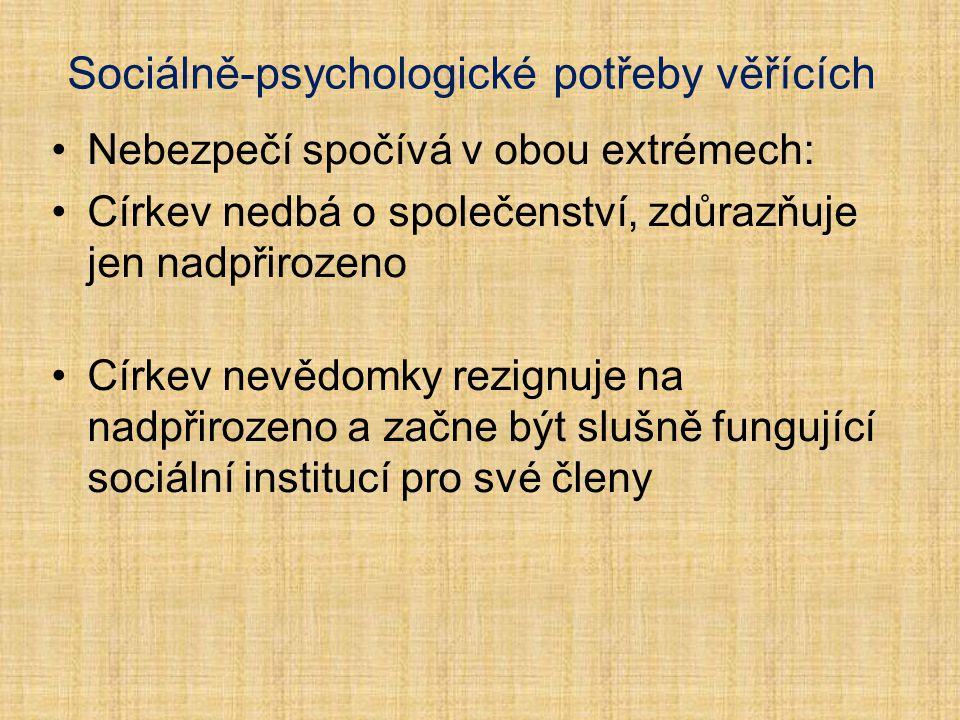 """5 """"pastí církve na poli soc. psychologie"""
