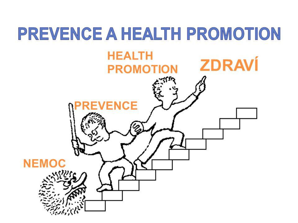 NEMOC PREVENCE HEALTH PROMOTION ZDRAVÍ