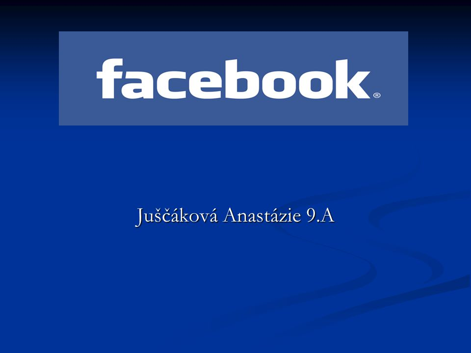 "Co to je ""Facebook ."