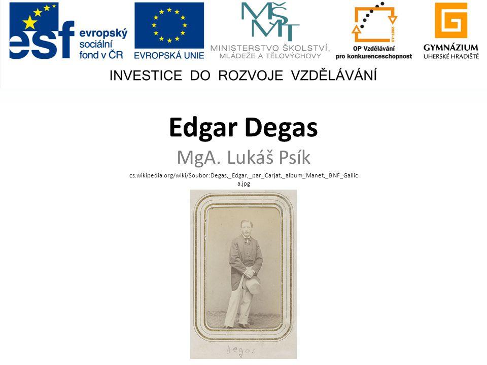 Edgar Degas MgA.