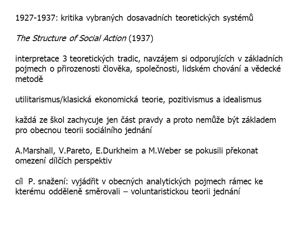 utilitarismus a klasická ekonomická teorie 1 přitažlivost: - elegantně analytická a systematická, tzn.