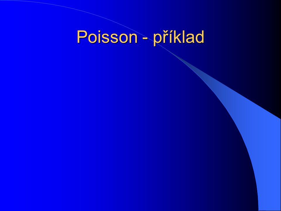 Poisson - příklad