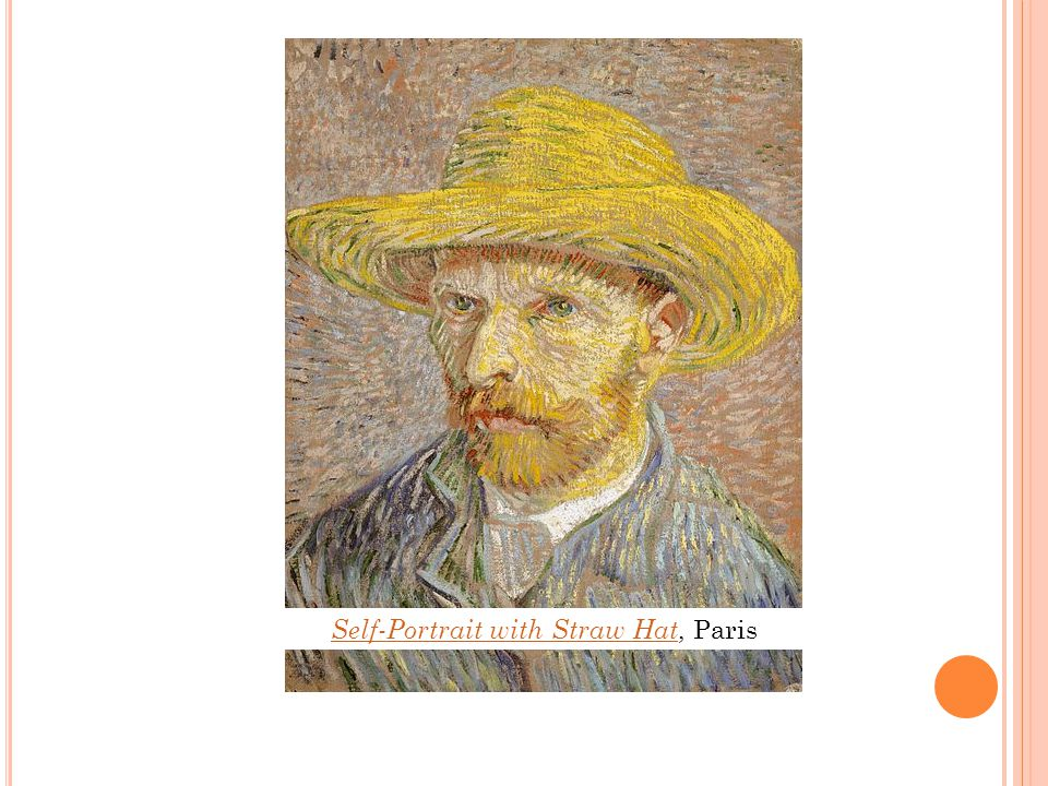 Self-Portrait with Straw Hat Self-Portrait with Straw Hat, Paris