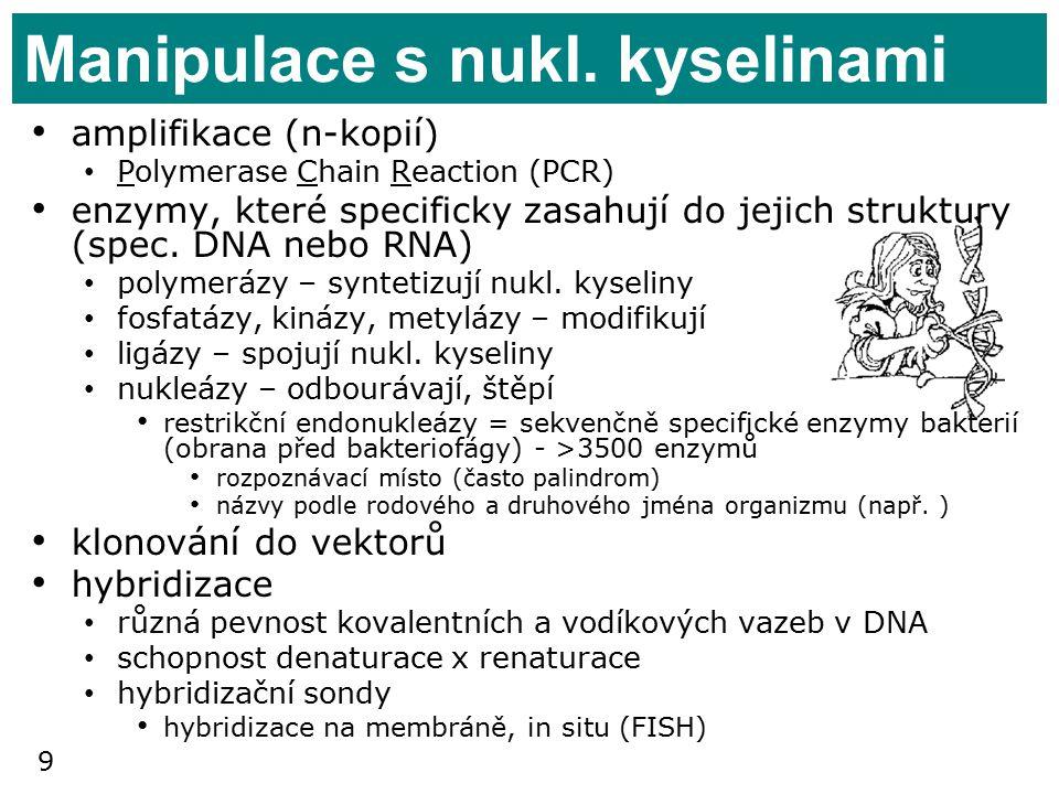 9 Manipulace s nukl.