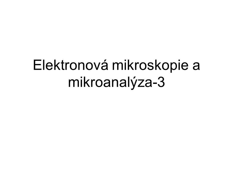 sekundární elektrony SE - Secondary Electrons SEI - Secondary Electrons Image SE jsou emitovány z el.