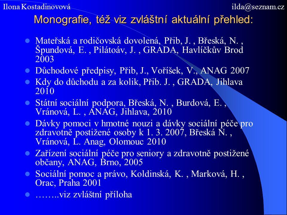 Děkuji za pozornost. Ilona Kostadinovová ilda@seznam.cz http://akilda.webnode.cz/