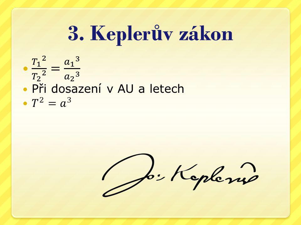 3. Kepler ů v zákon