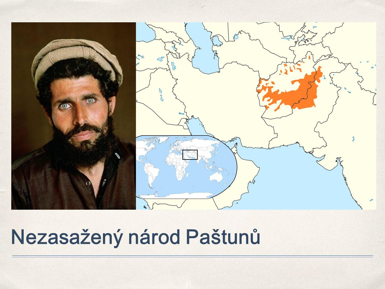 Nezasažený národ Paštunů
