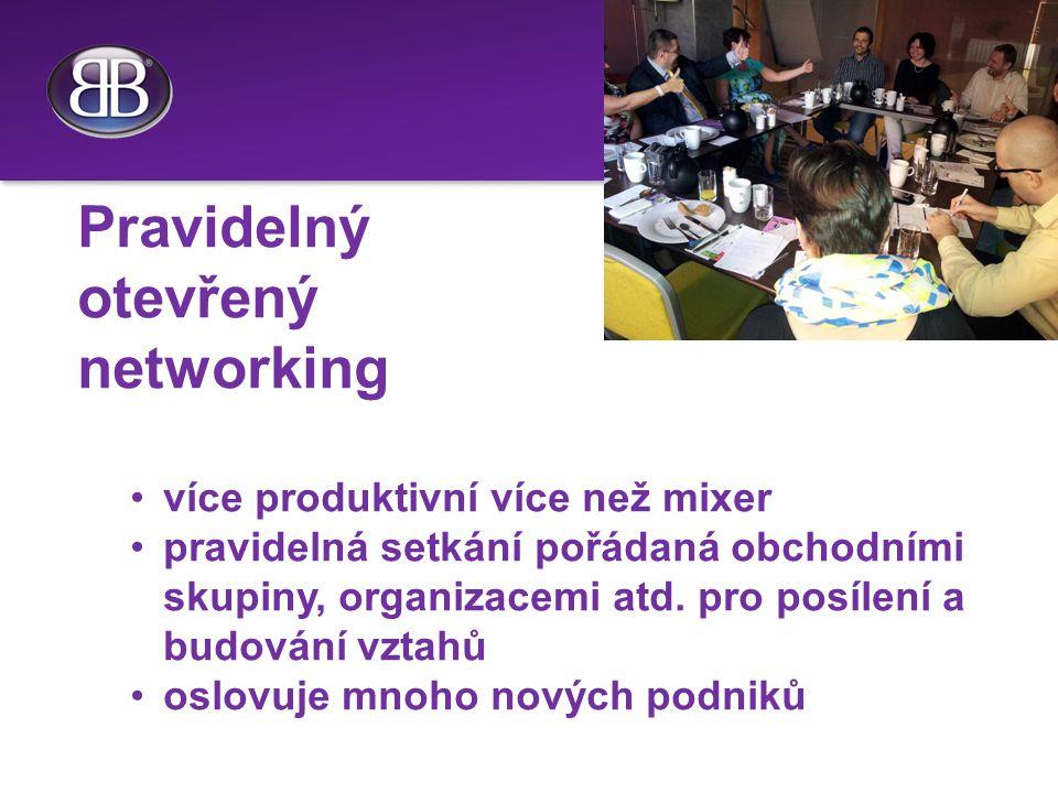 Pravidelný otevřený networking více produktivní více než mixer pravidelná setkání pořádaná obchodními skupiny, organizacemi atd.