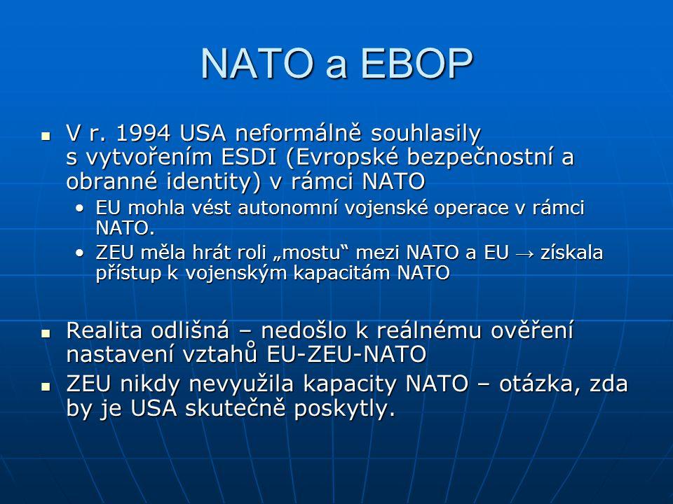 NATO a EBOP V r.