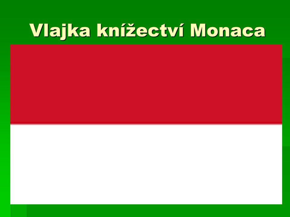 Vlajka knížectví Monaca