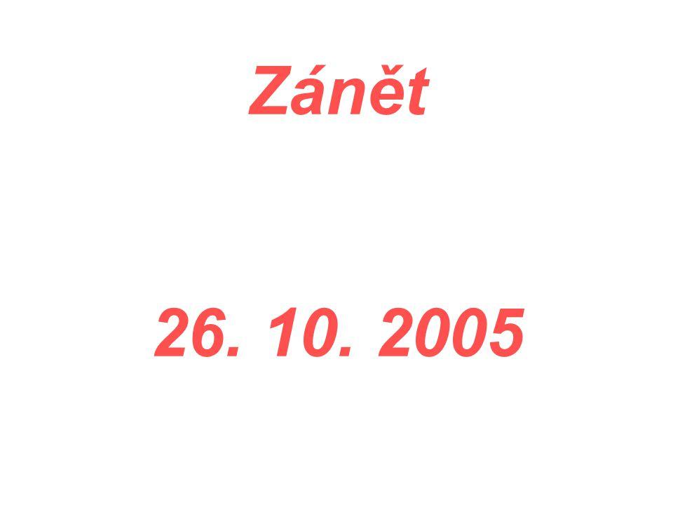 Zánět 26. 10. 2005