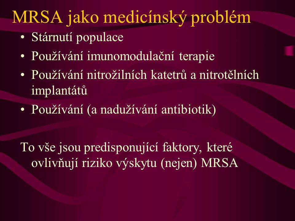 MRSA není virulentnější než jiný S.