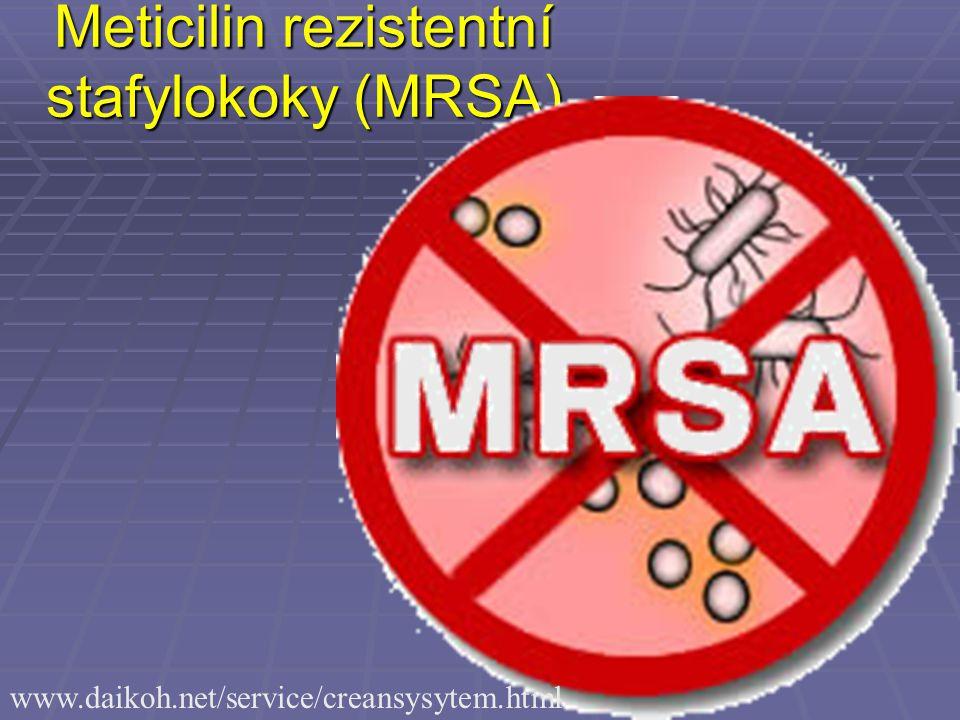 Meticilin rezistentní stafylokoky (MRSA) www.daikoh.net/service/creansysytem.html
