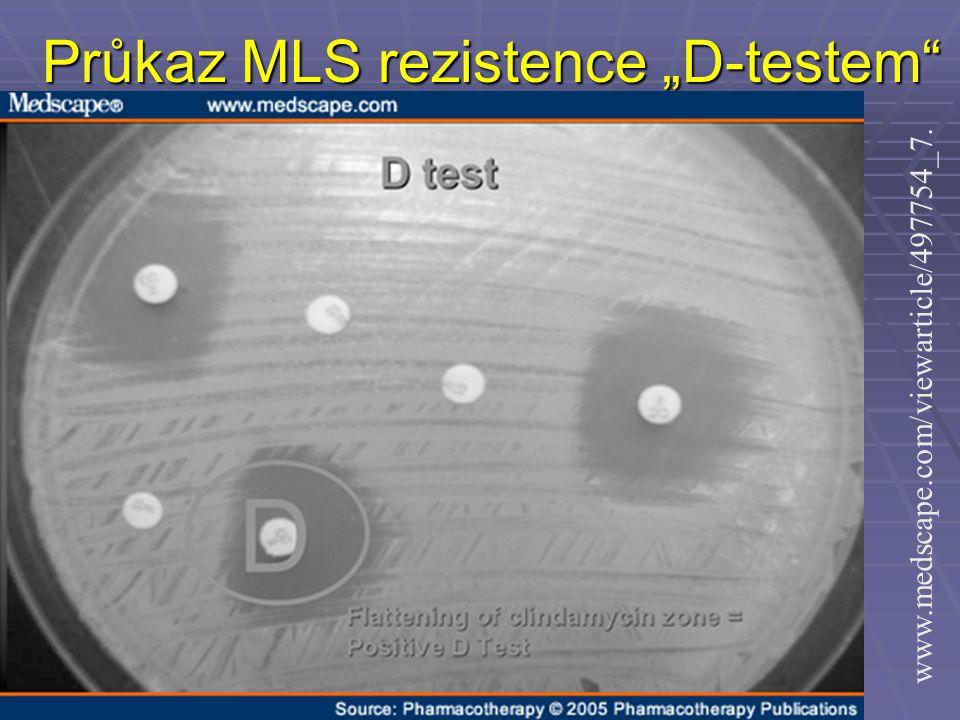 "Průkaz MLS rezistence ""D-testem"" www.medscape.com/viewarticle/497754_7."