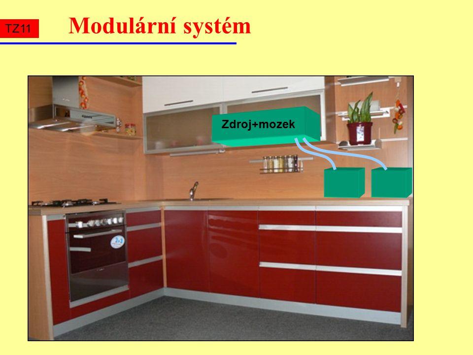 Modulární systém Zdroj+mozek TZ11