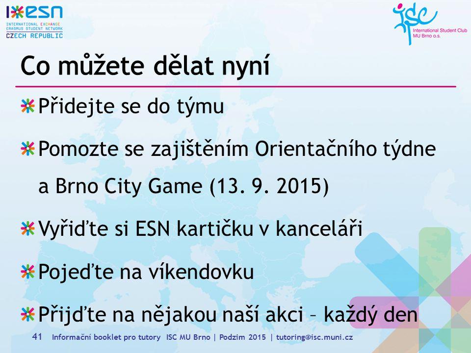 Přidejte se do týmu Pomozte se zajištěním Orientačního týdne a Brno City Game (13.