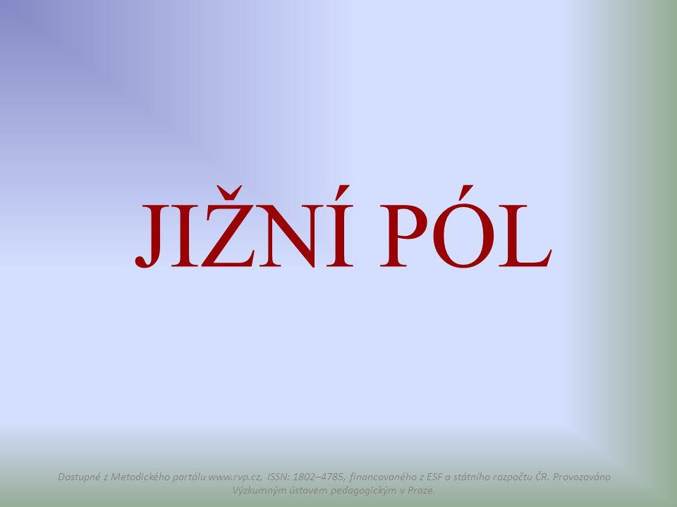 JIŽNÍ PÓL Dostupné z Metodického portálu www.rvp.cz, ISSN: 1802–4785, financovaného z ESF a státního rozpočtu ČR. Provozováno Výzkumným ústavem pedago