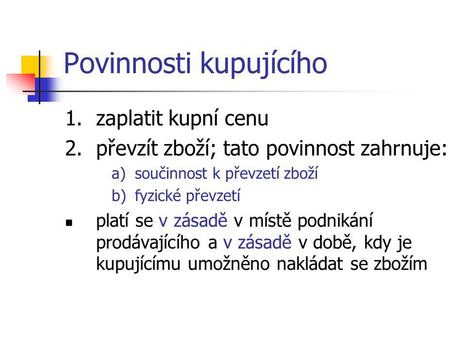 Limitace náhrady škody ex lege Čl.