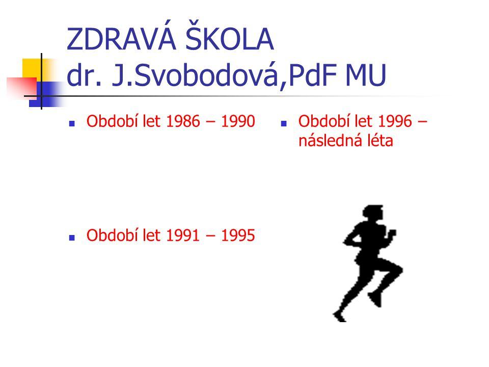 ZDRAVÁ ŠKOLA dr.