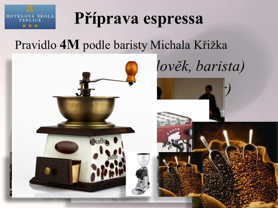 Díky rychlé oxidaci nemůže předem namletá káva nikdy dosáhnout kvalit čerstvě namleté.