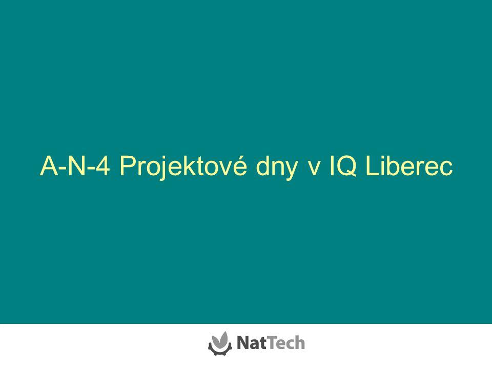 A-N-4 Projektové dny v IQ Liberec