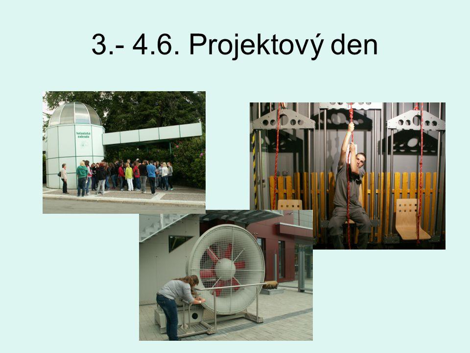 3.- 4.6. Projektový den