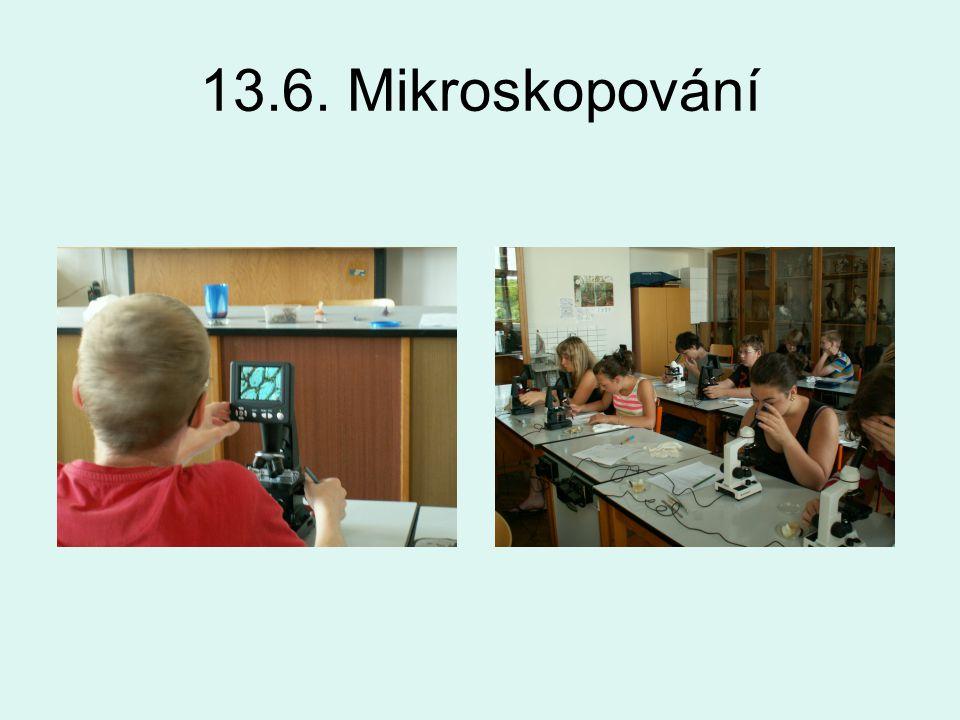 13.6. Mikroskopování