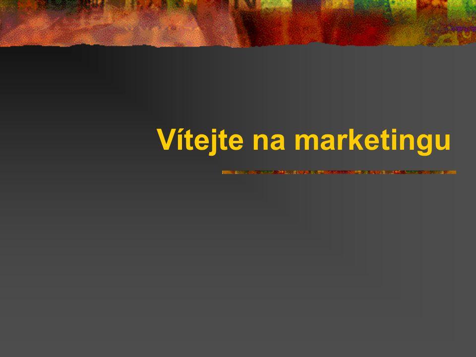 Vítejte na marketingu