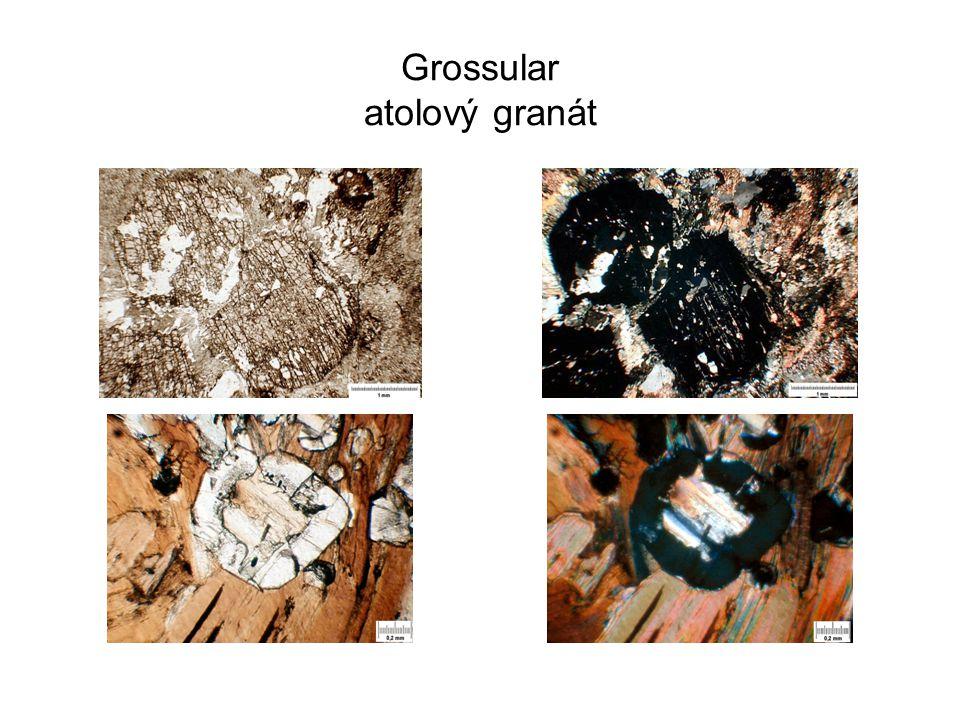 Grossular atolový granát