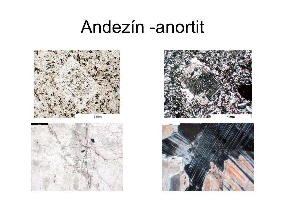 Karbonáty - aragonit