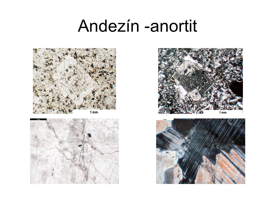 Andezín -anortit
