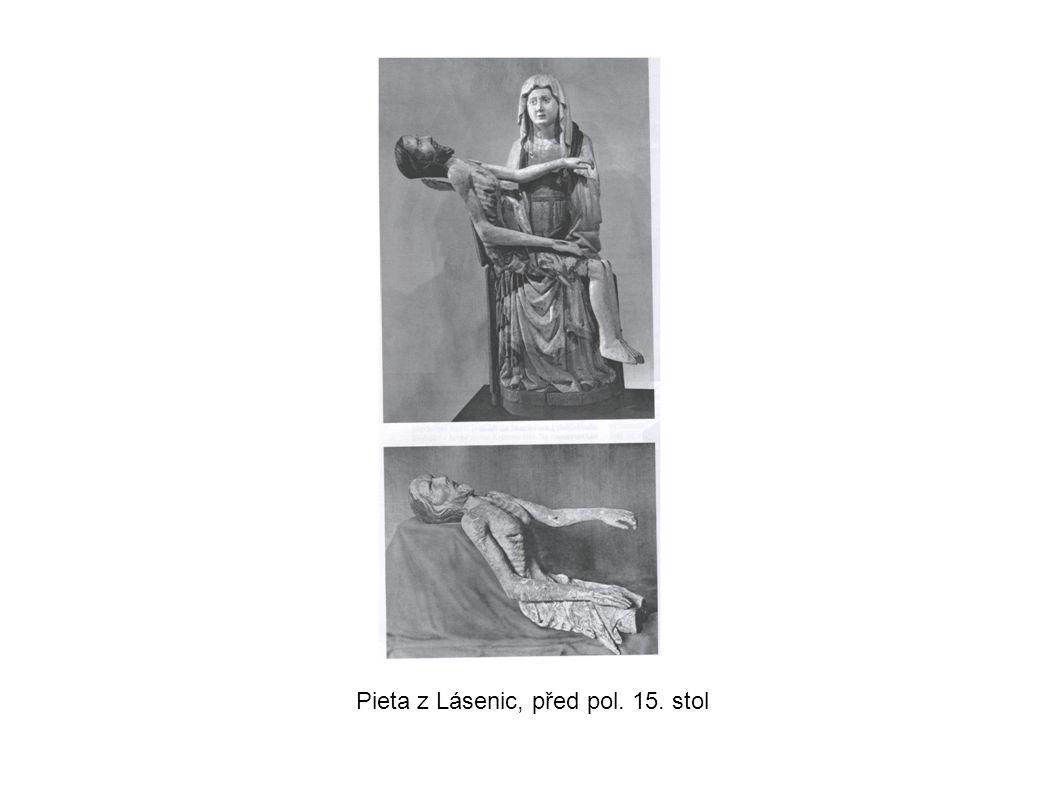 Pieta z Lásenic, před pol. 15. stol