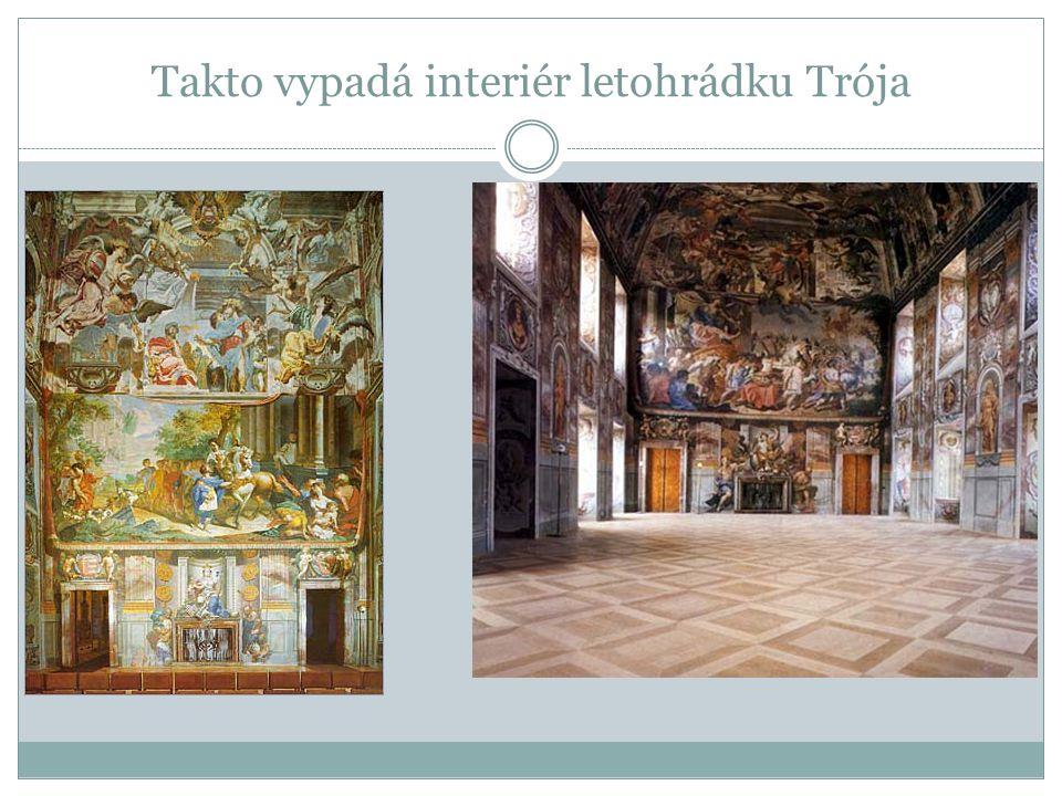 Takto vypadá interiér letohrádku Trója