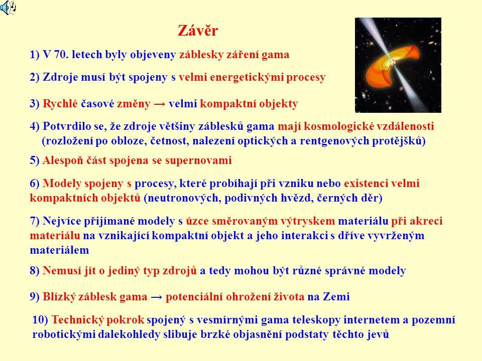 Závěr 1) V 70.