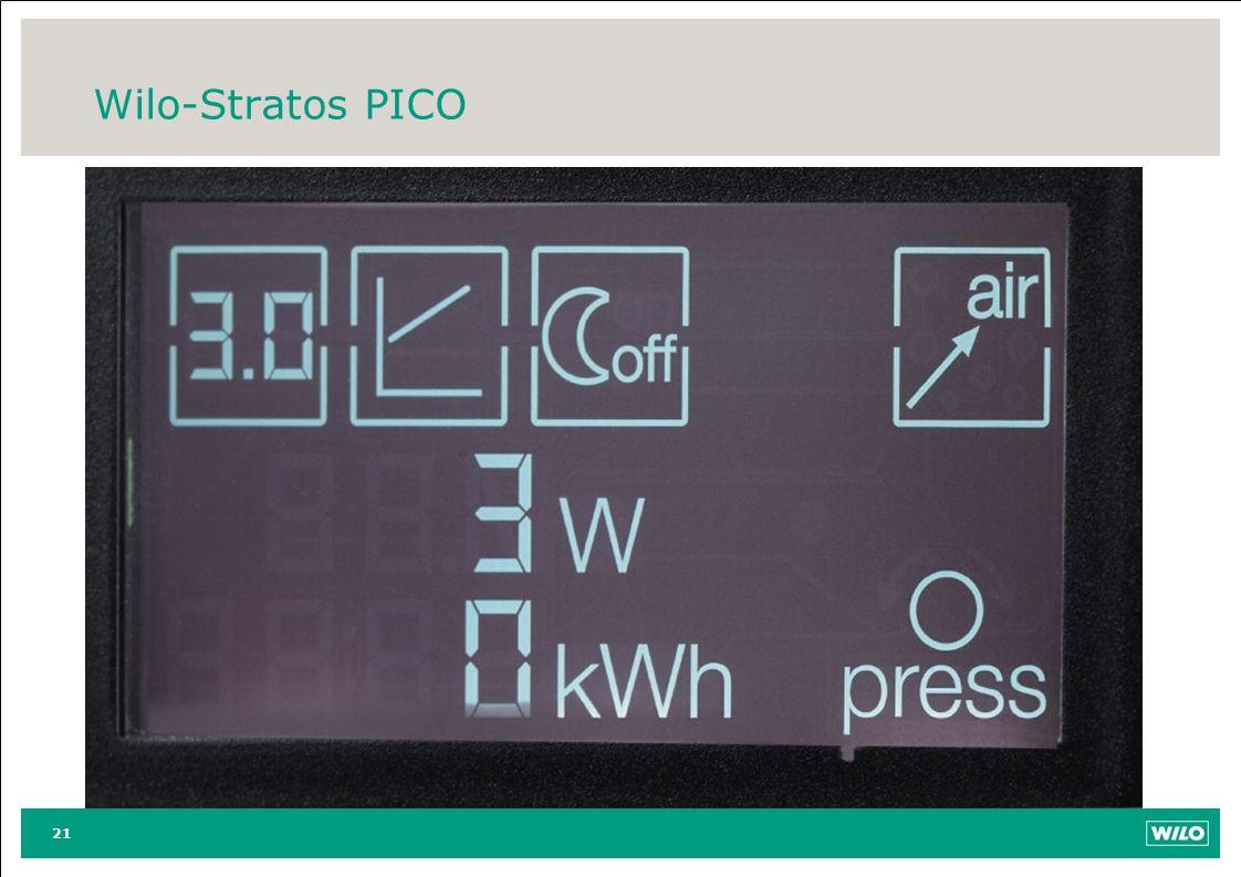 Wilo-Stratos PICO 21
