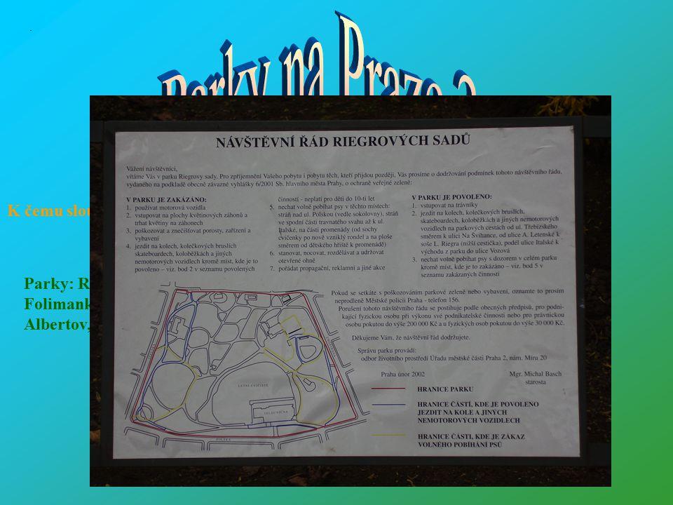 Zeleň: parky, stromy v ulicích, vnitrobloky Ovzduší – co zlepšuje ovzduší: zeleň - co zhoršuje ovzduší: doprava (Magistrála), vytápění, průmyslová výroba Čistota a úklid: psí výkaly, odpadkové koše, mytí povrchu ulic, tříděný odpad, živočichové Hluk: doprava, technika.