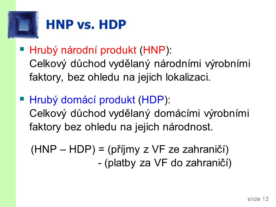 slide 13 HNP vs.