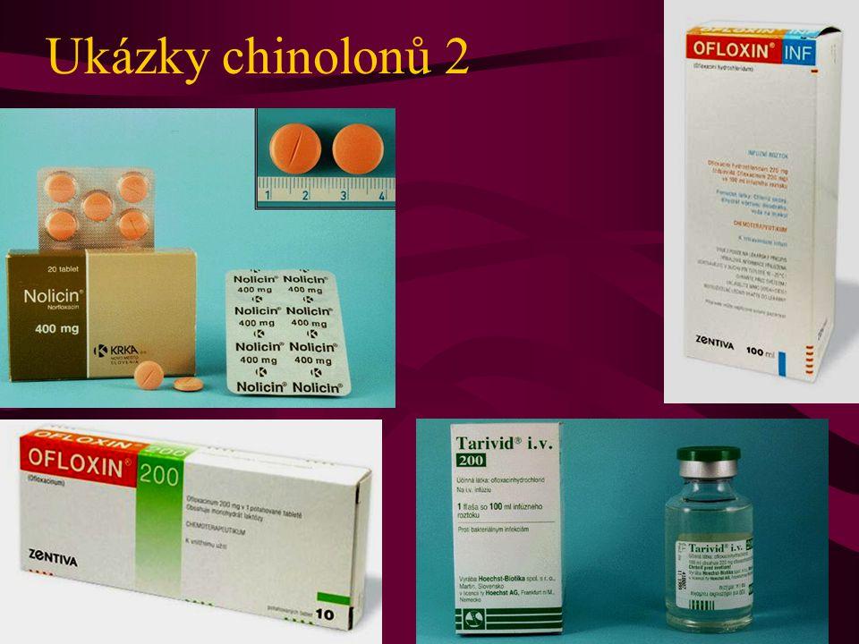 Ukázky chinolonů 2