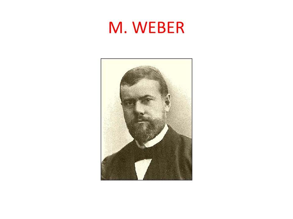 - 1864 - 1920 - významný německý sociolog - oddělil úroveň ekonomickou, politickou a kulturně sociální jako samostatné oblasti rozvrstvení - pojem třídy spojoval s ekonomickou oblastí - částečně pod jeho vlivem, ale také pod vlivem místních podmínek, byla vytvořena i v Americe teorie stratifikace