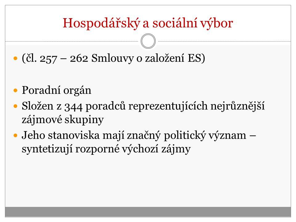 Hospodářský a sociální výbor (čl.