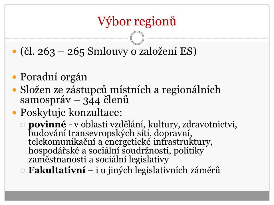 Výbor regionů (čl.