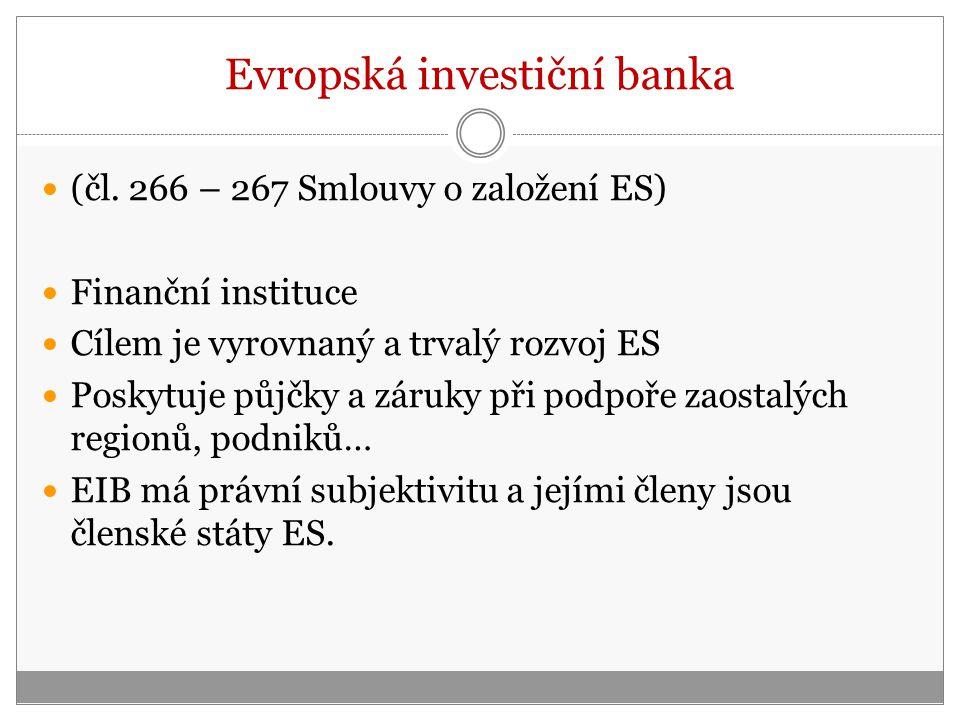 Evropská investiční banka (čl.
