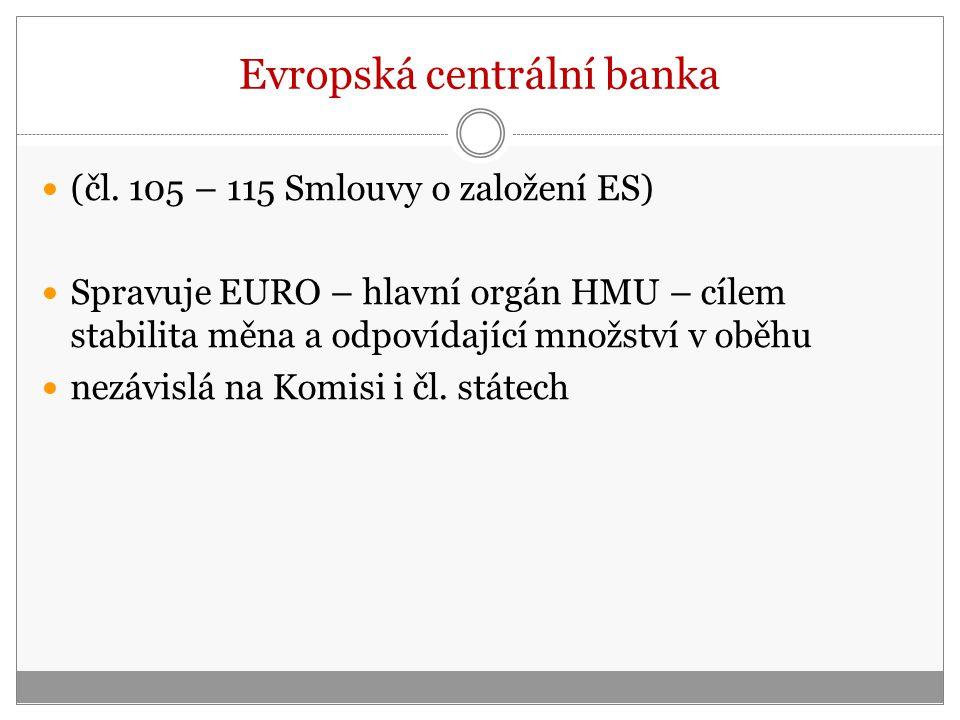 Evropská centrální banka (čl.