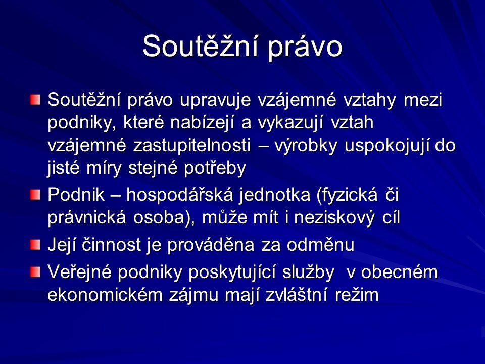 Kartelové dohody Čl.